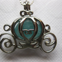 Awesome AQUA Royal Carriage Locket by snickers4130