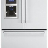 DDFF136DSS Viking Designer 36&quot; French-Door Bottom-Mount Refrigerator/Freezer with Ice and Water Dispenser - Stainless Steel