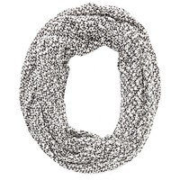 Metallic Marled Infinity Scarf by Charlotte Russe