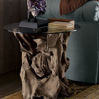 Arteriors - Driftwood Side Table - Horchow