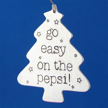 Go Easy on the Pepsi - Home Alone Ornament - Spiffing Jewelry