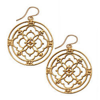 Jessica Elliot Vermeil Iron Blossom Earrings