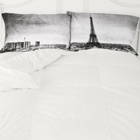 Paris Panorama Pillowcase Set