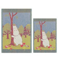 Amazon.com: Ekelund Moomin Lucky Tree Tea Towel - Large: Home & Kitchen