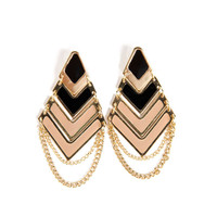 Layered Angle Earrings - 2020AVE