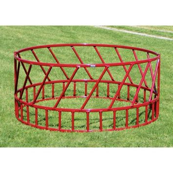 Heavy Duty Slant Bar Hay Feeder for Cattle, 2 Piece