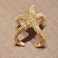 Starfish ring Onsale Today only
