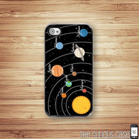 IPhone 4 4S Hard Case Solar System .. on Luulla