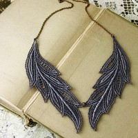 muse  lace necklace by whiteowl on Etsy