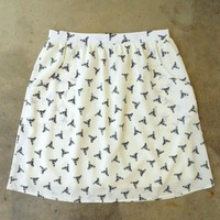 Feminine Punk Safety Pin Skirt [2260] - $27.00 : Vintage Inspired Clothing &amp; Affordable Summer Dresses, deloom | Modern. Vintage. Crafted.