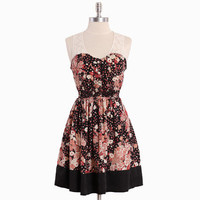 rose chimera floral pocket dress - &amp;#36;38.99 : ShopRuche.com, Vintage Inspired Clothing, Affordable Clothes, Eco friendly Fashion