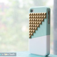IPhone 4 Case - Color Block Stud - .. on Luulla