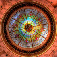 Dome, HDR 8x10 Fine Art Photo Print