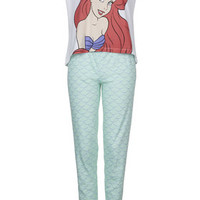 Little Mermaid Pyjama Set - Mint