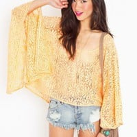 Peachy Lace Top - NASTY GAL