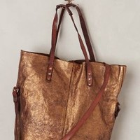 Aurora Tote by Campomaggi Bronze One Size Bags