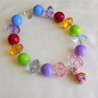 Mollie Moe Bows | Mollipops! - Rainbow Bear - necklace | Online Store Powered by Storenvy