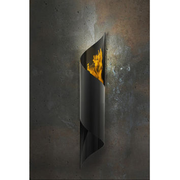 SAVE Nuvo Wall Mounted Bio Ethanol Indoor and Outdoor Fireburner