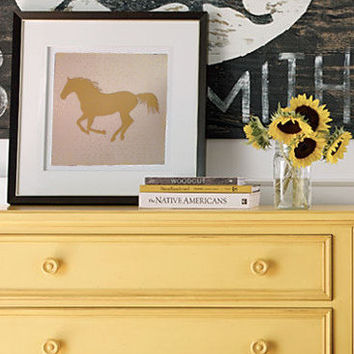 Horse Cutout Print // Original 12x12 Cutout 3D Print for Home, Dorm, or Office Decor and Gifts