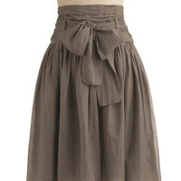 In Tandem Skirt in Slate | Mod Retro Vintage Skirts | ModCloth.com