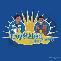 Troy and Abed in the Morning T-Shirt by rexraygun by Redbubble - Teenormous.com
