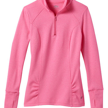 long sleeve half zip pullover