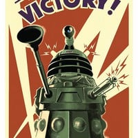 Doctor Who Dalek Victory Poster - 192983