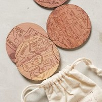 In The Neighborhood Coasters by Anthropologie