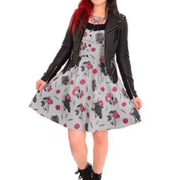 Spooksville Nevermore Ravens Dress - PLASTICLAND