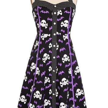 Bats 'N Bones Dress - PLASTICLAND
