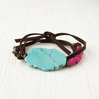 Free People Stone Wrap Bracelet