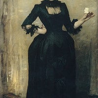John Singer Sargent: Lady with the Rose (Charlotte Louise Burckhardt) (32.154) | Heilbrunn Timeline of Art History | The Metropolitan Museum of Art