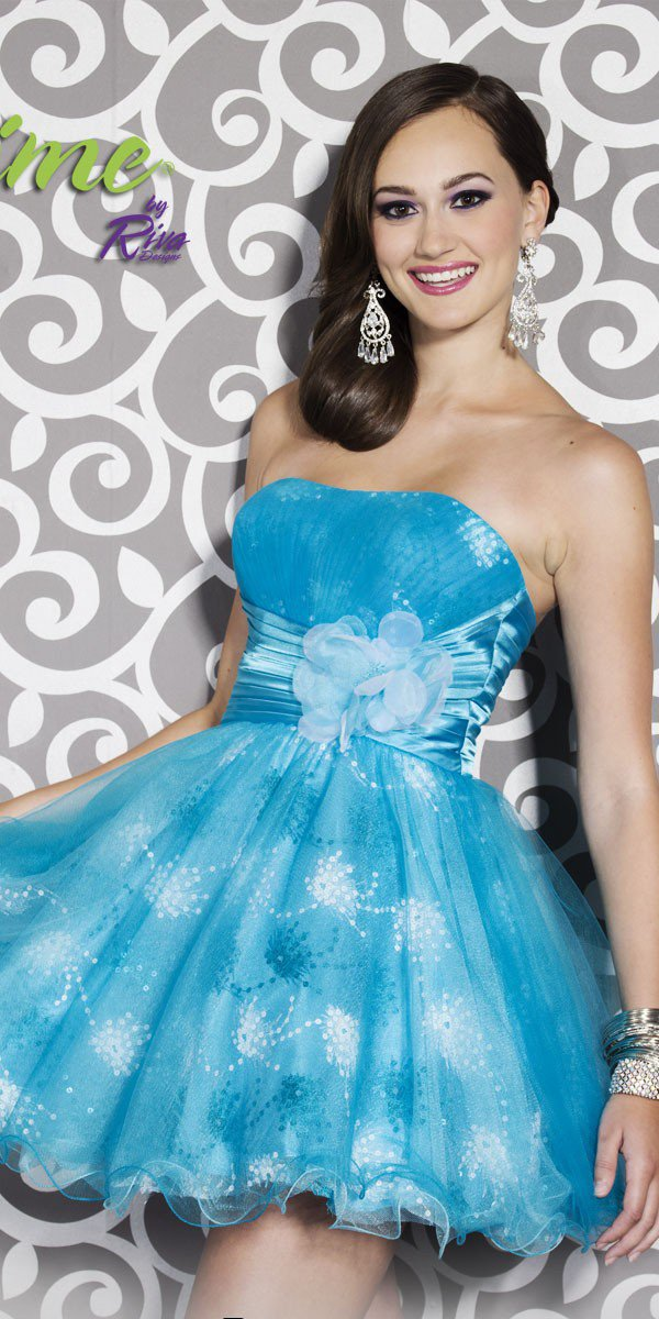 Riva Fun Flirty Dress L829 - $318