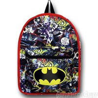 Batman Reversible Comic/Symbol Backpack