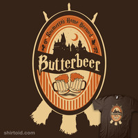 Home Brewed Butterbeer | Shirtoid