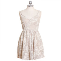 keen on kallithea paisley burnout dress - $39.99 : ShopRuche.com, Vintage Inspired Clothing, Affordable Clothes, Eco friendly Fashion