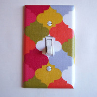 Moroccan Ornament Single Toggle Switchplate Switch Plate