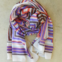 Modern Aztec Scarf [3239] - $18.00 : Vintage Inspired Clothing & Affordable Summer Dresses, deloom | Modern. Vintage. Crafted.