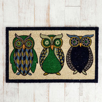 Urban Outfitters - Night Owl Welcome Mat