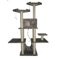70` Cat Tree Condo Furniture Scratch Post Pet House 11L