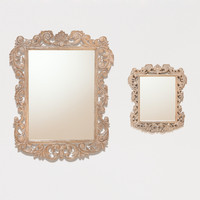 Isla Carved Mirror Collection | World Market