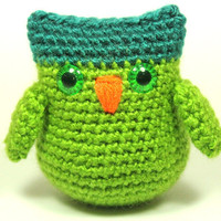 Amigurumi Owl Plush Toy