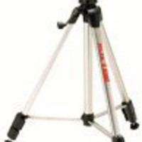 Slik Heavy-Duty Tripod with 3-Way Fluid-Effect Head and Built-In Bubble Level