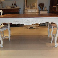 Tavolo Antiquariato TAVOLO PROVENZALE SHABBY CHIC Les Arts Antiques Latina, Roma, shabby chic, shabby style, Antiquariato, Vintage, Complementi d&#x27;arredo