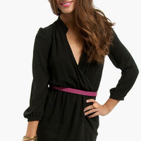 Plus One Wrap Dress $64