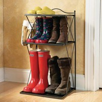 Tiered Boot Tray from Collections Etc.