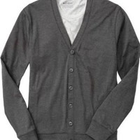 Old Navy Men`s Jersey Vneck Cardigans