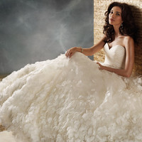 Bridal Gowns, Wedding Dresses by Jim Hjelm - Style jh8157