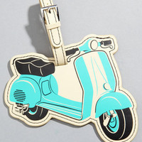 Retro Luggage Tags | Flapjack Toys Luggage Tags | fredflare.com