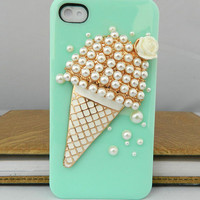 Super Deal Ice cream Cartoon Style loves case for iPhone and iPhone 4s case cover